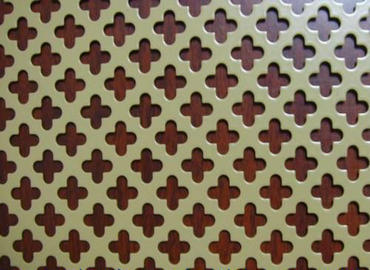 309s Stainless steel perforated plate