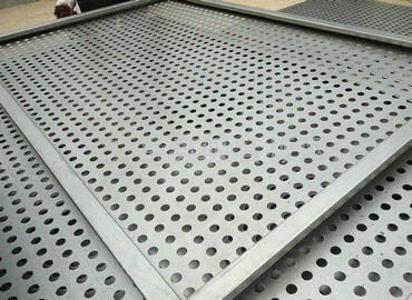 201 Stainless steel perforated plate
