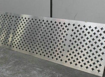 306 Stainless steel perforated plate